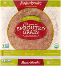 Sprouted Grain Tortillas in Taco Size