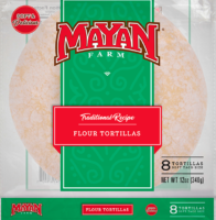 8 inch Soft Taco Flour Tortillas