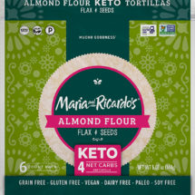Keto Tortilla - Almond Flour Tortilla - Flax & Seeds Tortilla