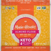 Keto Tortilla - Almond Flour Tortilla - Sea Salt Tortilla