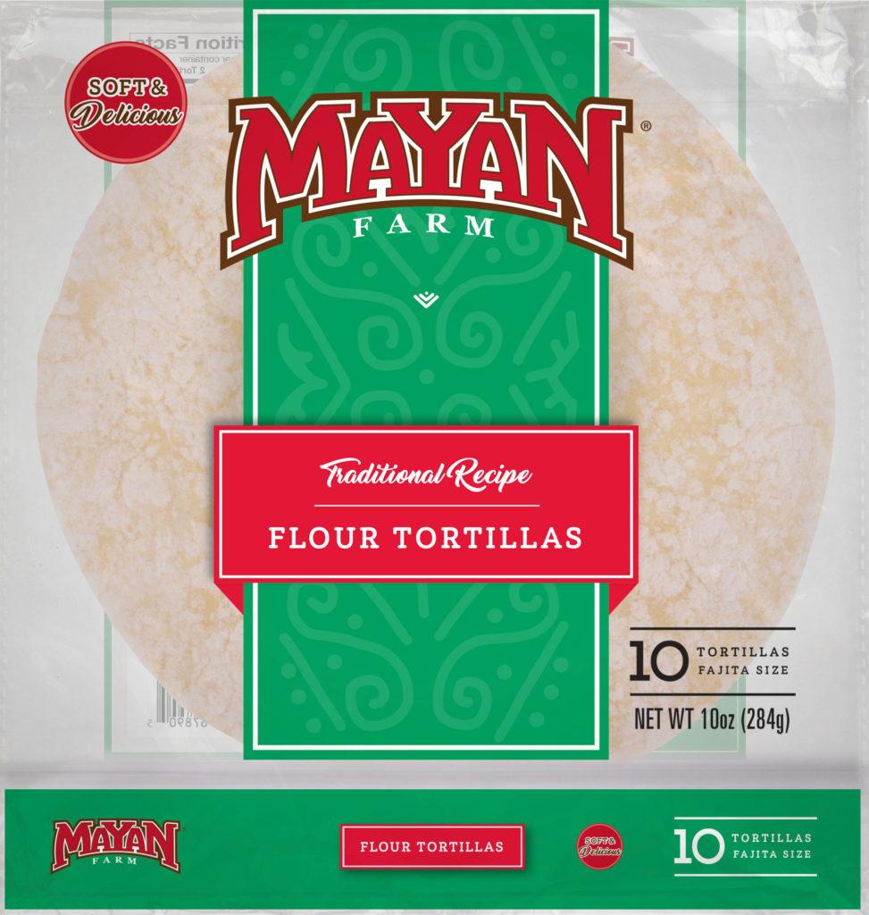Mayan Farms White Flour Tortillas - Fajita Size