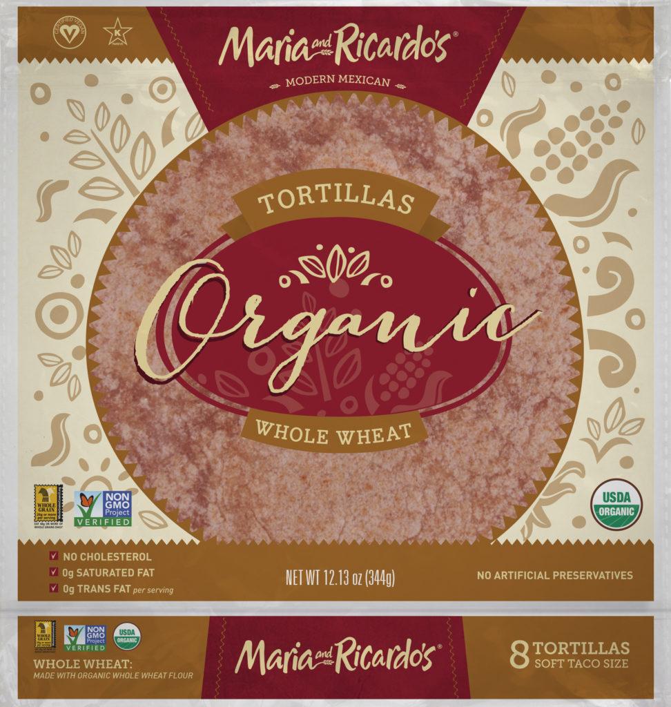 Maria and Ricardos Organic Whole Wheat Tortillas