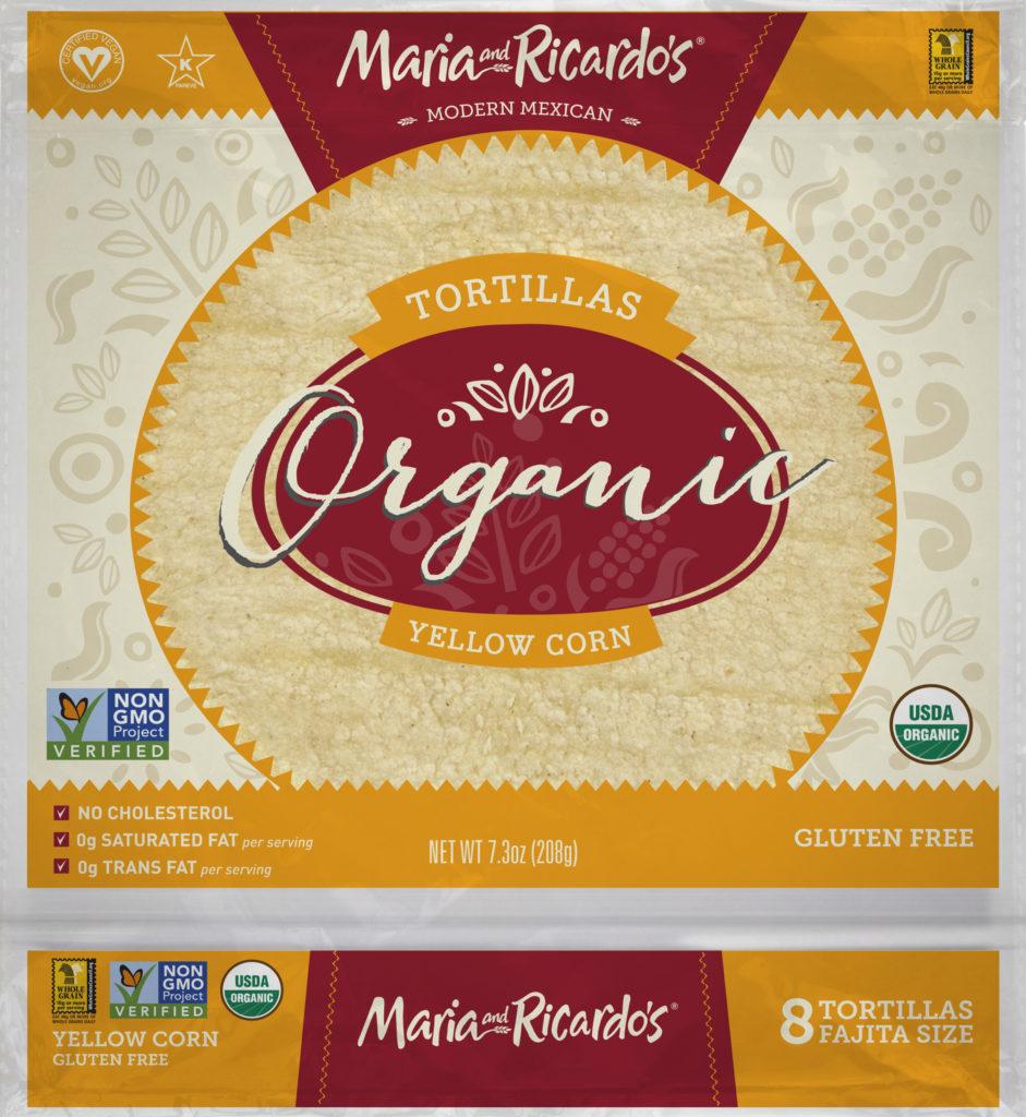 Maria and Ricardos Organic Yellow Corn Tortillas