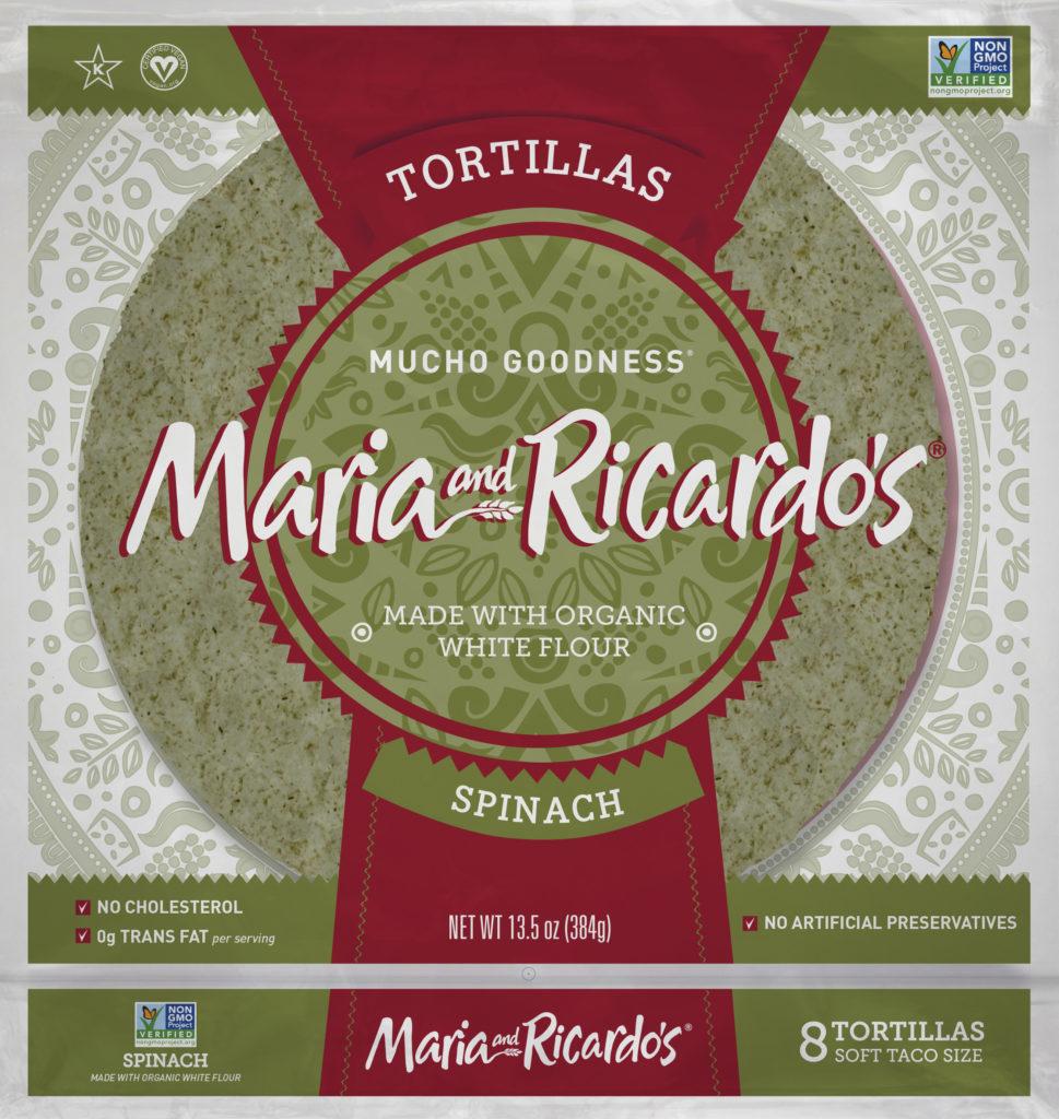 Maria and Ricardos Spinach Tortillas