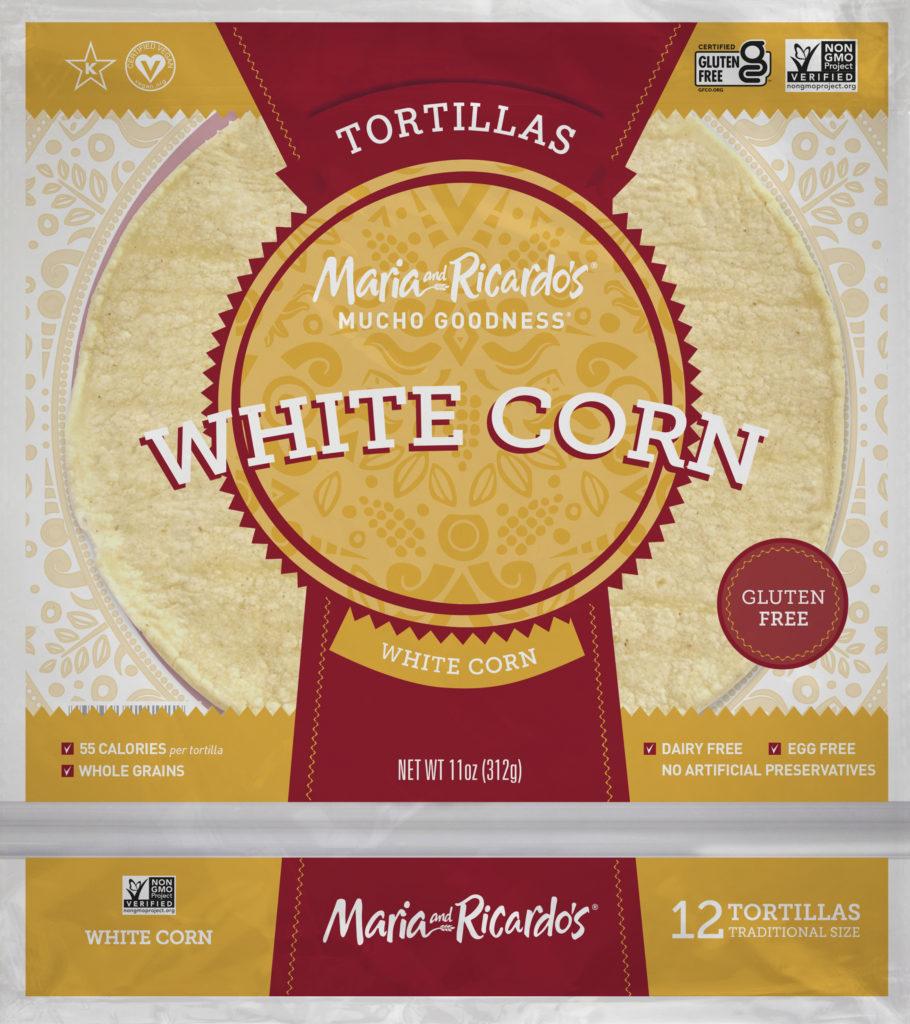 Maria and Ricardos White Corn Tortillas