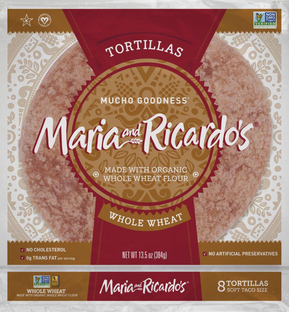 Maria and Ricardos Whole Wheat Tortillas