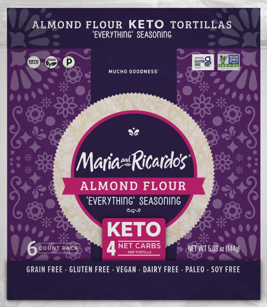 Almond Keto Tortillas