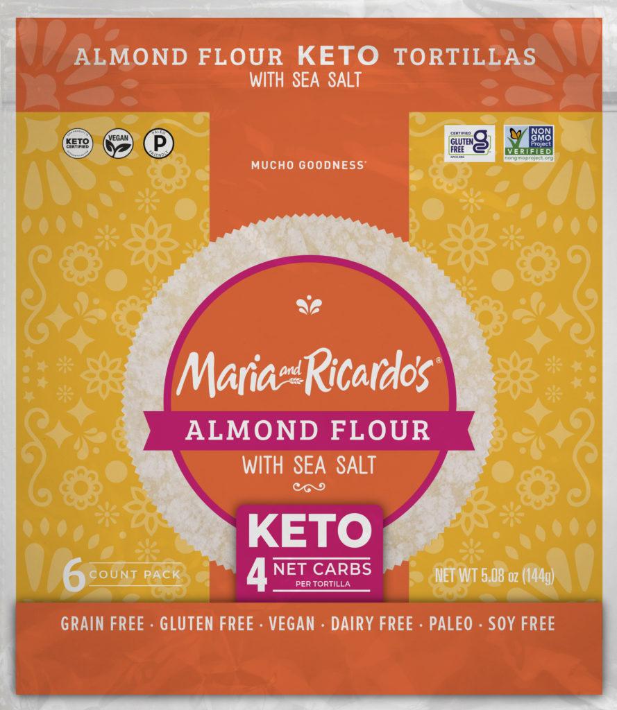 Sea Salt Almond Keto Tortillas