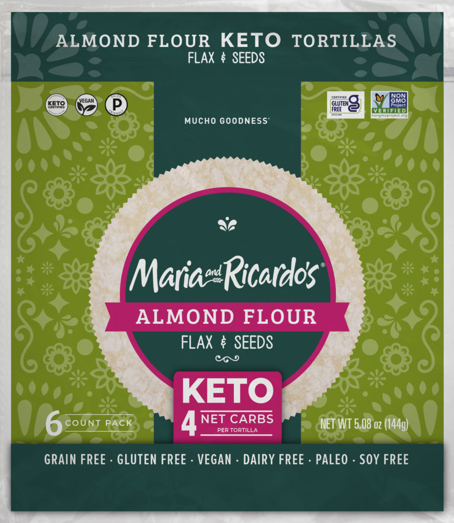 Almond Keto Tortillas with Flax Seed