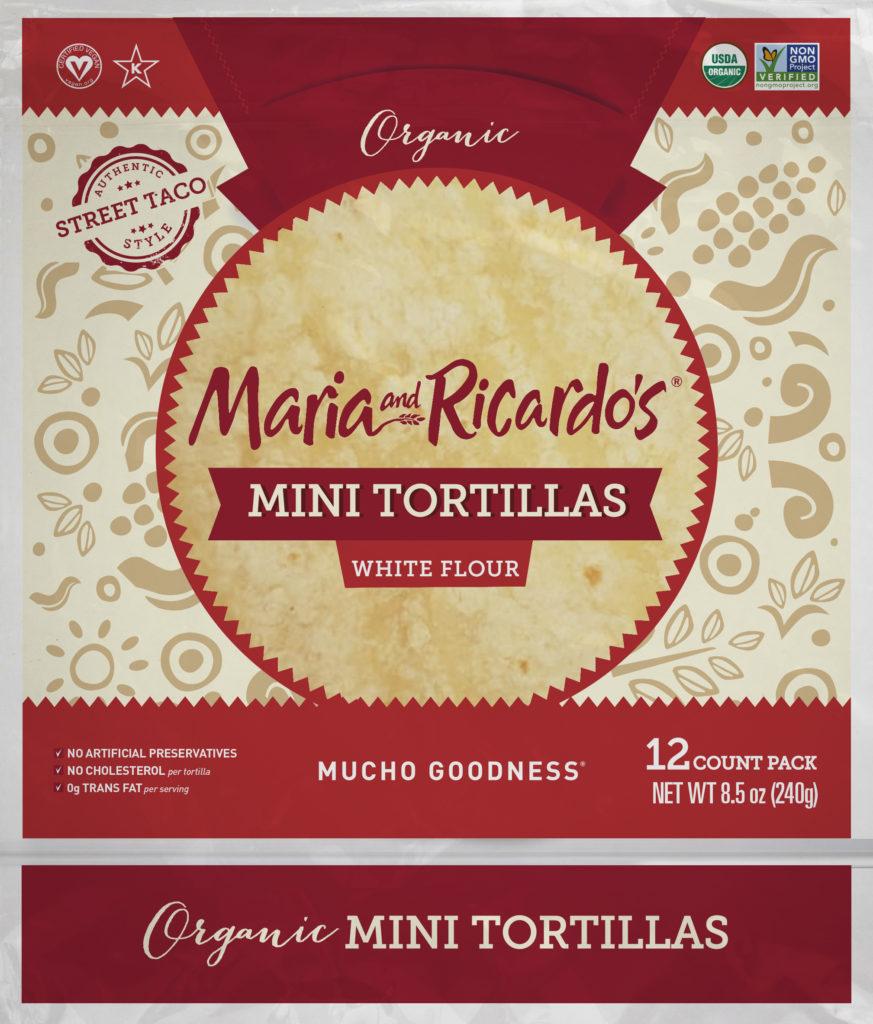 Maria and Ricardos Organic Taco Style Tortillas