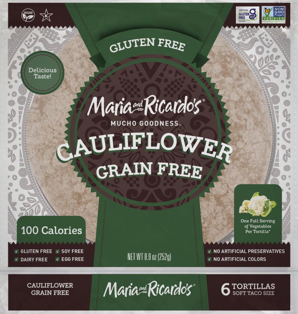 Gluten Free Tortillas - Cauliflower