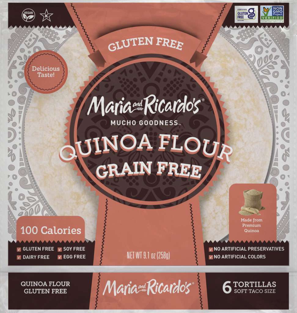 Gluten Free Tortillas - Quinoa